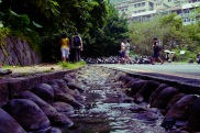 Sulphuric stream flowing through Beitou.