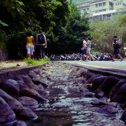 Sulphuric stream flowing through Beitou.